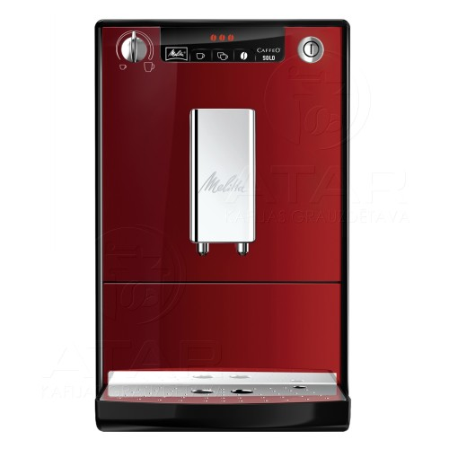 Kafijas automāts MELITTA CAFFEO Solo (Red)
